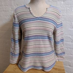 LRL Lauren Jeans Co Ralph Lauren Striped Shirt